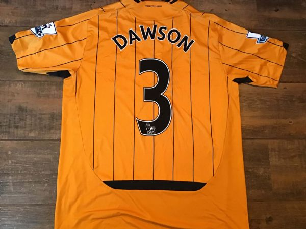 2009 2010 Hull City Dawson Player Issue Home Football Shirt Large